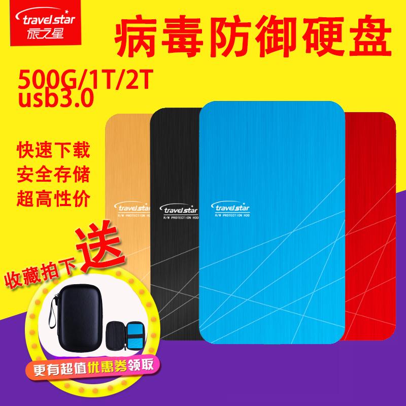 La mémoire à grande vitesse 500G2tb d'un disque dur mobile 1tbUSB3.02.5 pouces portable crypté de métal