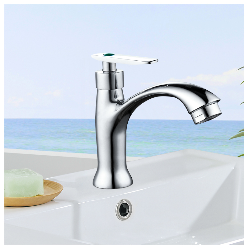 Hände waschen wäsche - pool - Tao kopf Voller Kupfer ventil waschbecken waschbecken Kern - Becken Becken single kaltes Wasser führenden Keramik aus einem Loch