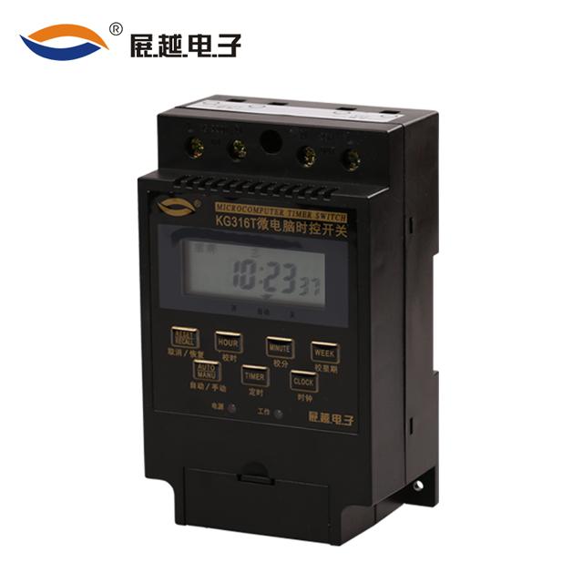 выставка более микрокомпьютерный контроль сроки перехода KG316T переключатель времени контролер электронный таймер 220в уличный фонарь