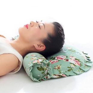 颈椎枕头 成人脊椎枕保健修复护颈椎专用脖枕 荞麦圆柱枕头颈椎枕