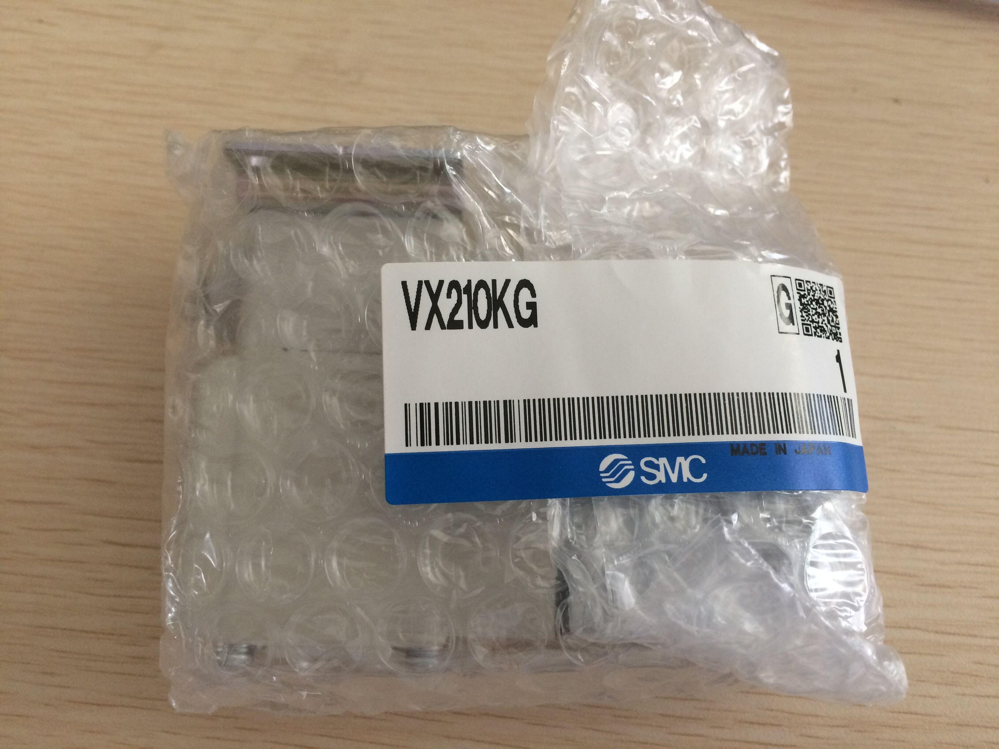 Japan SMC genuine genuine direct acting solenoid valve, air monomer VX210KG false one penalty ten!