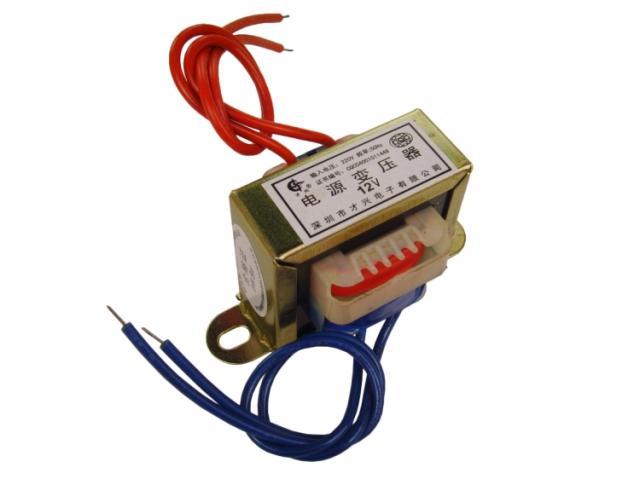 EI48 мед трансформатор 8W/VA220V 6V/9V/12V/15V/18V/24V/30V едно двойно.