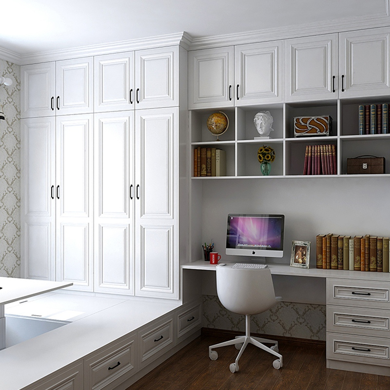 Tatami custom whole bedroom children study m solid wood bed cabinet and cabinet whole house furniture