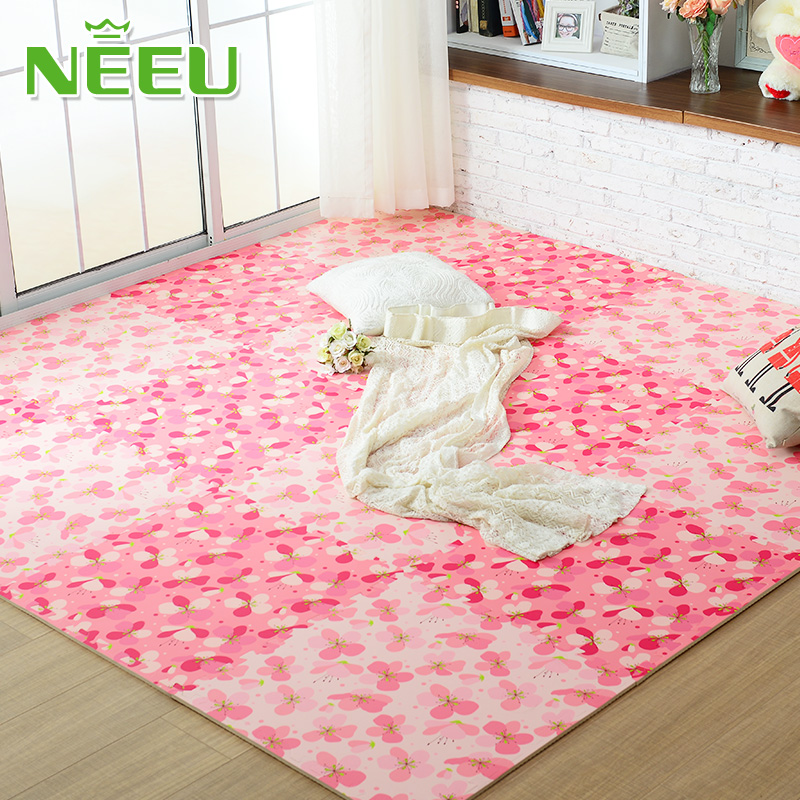 Household bedroom mosaic foam mats covered with tatami mat bed floor living room carpet cushion dormitory windows