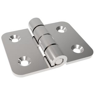 2 inch small symmetrical butterfly hinge CHL077 industrial equipment, iron box door hinge hinge 36*48