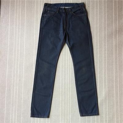 橙标限量五0五C 男士水洗牛仔裤  尺码27、30、34原单