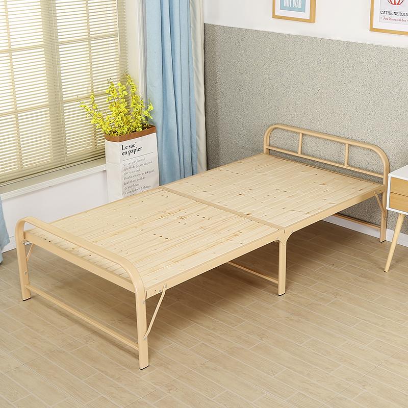 小型折りたたみベッド行軍ベッド砂浜児童のベッドもベッド昼休みベッド金属寝室昼寝ベッド欧風