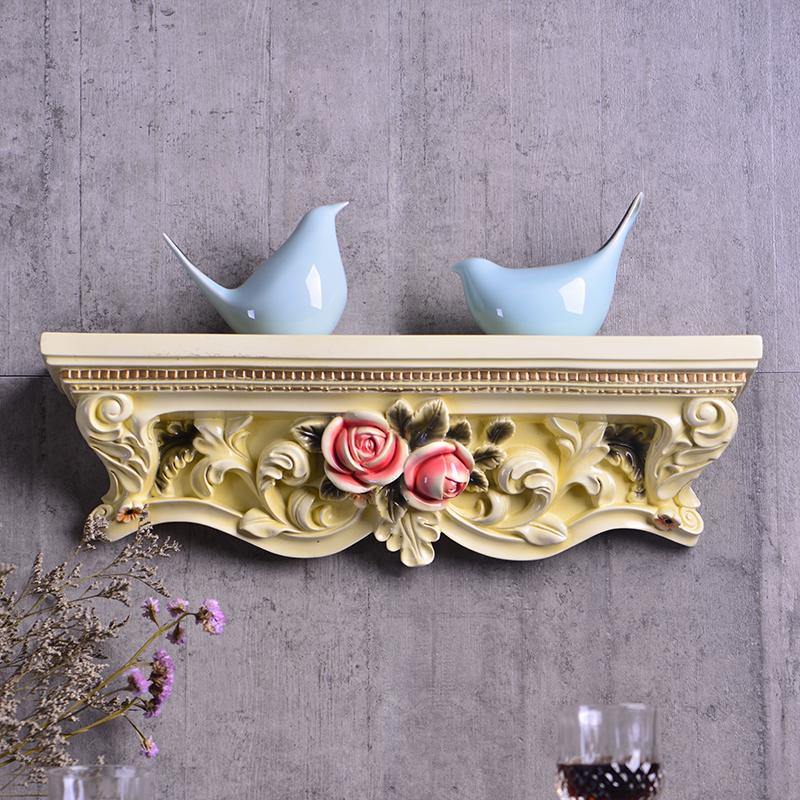 bg-9906-字壁托仿古銀歐式壁掛花壁飾墻飾掛飾復古墻上壁托田園置物架 墻面裝飾品掛件