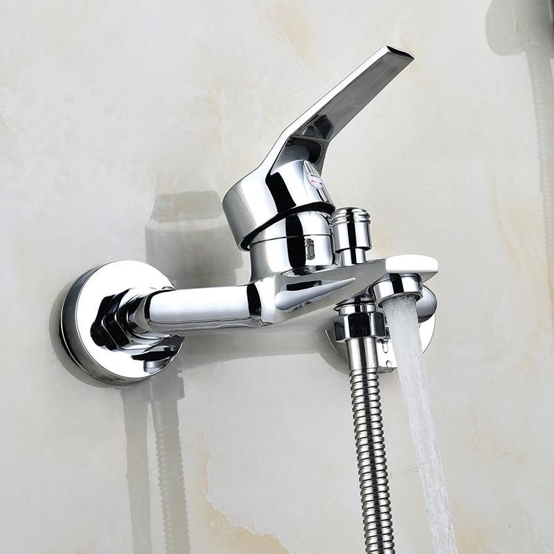 Kupfer, Bad MIT dusche Oder badewanne ventil - Kalte dusche, der wasserhahn.