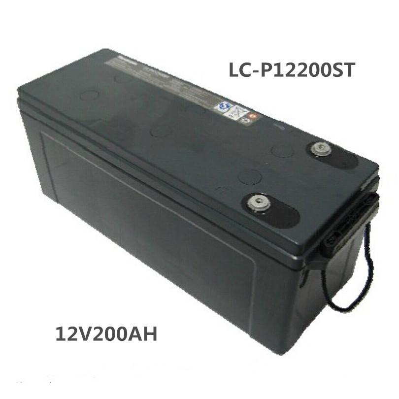 パナソニック松下蓄電池12V200AHPanasonic LC-P12200STUPS /直流モニター