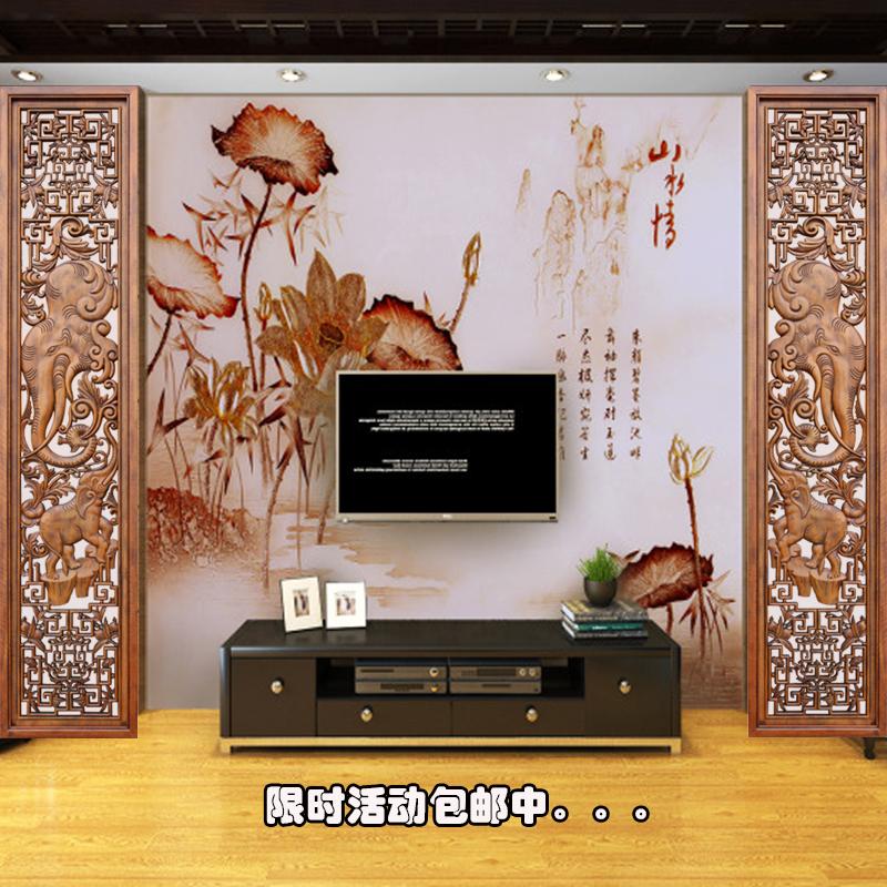 進店就送香樟木條、丸子東陽木雕 中式仿古門窗 玄關隔斷 實木屏風花格  電視背景墻烤漆