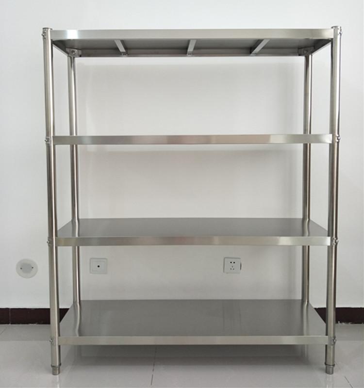 Electrodomésticos de cocina de acero inoxidable de estantes rack cuatro de metal y el horno de microondas marco marco marco personalizable