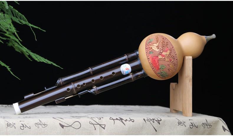 Modelo de instrumento de adultos el espectro completo de la calabaza calabaza Reed show calabaza chica un colgante