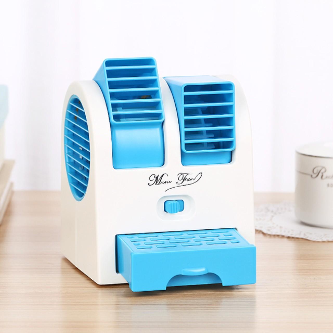 Un ventilateur unique sur le véhicule de l'eau froide du refroidisseur rapide de ventilateur d'humidification petit lit calme son ventilateur de climatisation de véhicule de pulvérisation de refroidissement