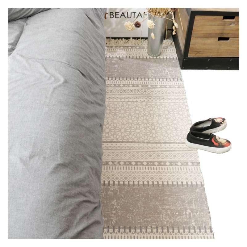 The bedroom carpet carpet mats to do the old industrial rectangular bed tatami mats woven cotton windows wind machine washable