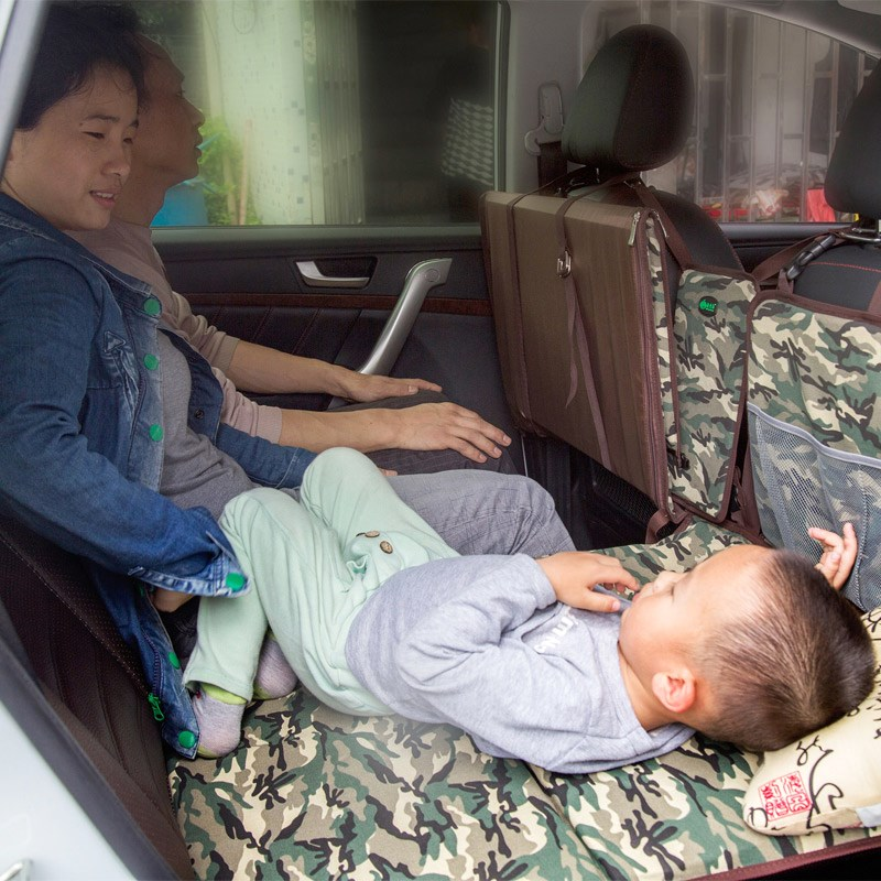Self driving tour adult children baby car bed folding inflatable mattress rear vehicle travel bed Che Zhenchuang