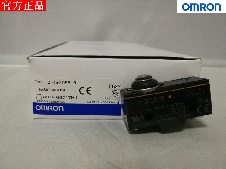 Original auténtico omron omron microswitch Z-15GD55-B