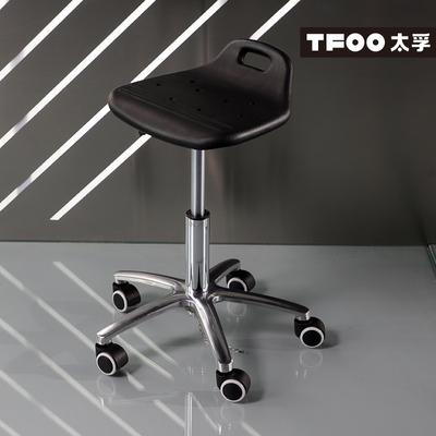 太孚 带轮防静电凳子 流水线可升降转椅 电子设备车间带地链座椅