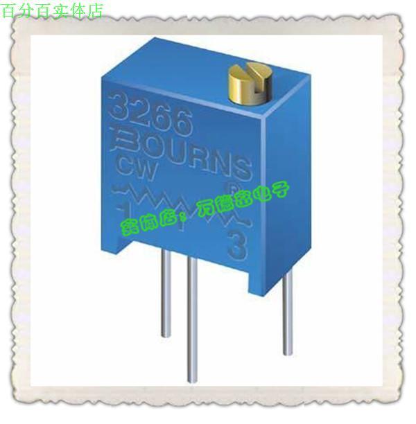 Die bons BOURNS verstellbare potentiometer MIT stativ 3266W-1-1051M parallel top