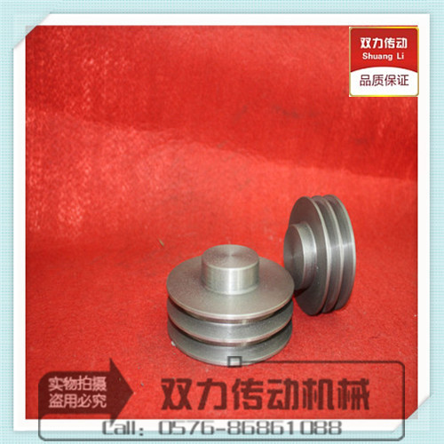 V V-belt pulley type B double groove /2B/B2 (head flat) 70mm-140mm factory direct drive double force drive