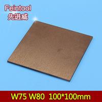volfram, volframov vroče plošče za varjenje. W75 baker baker volframove zlitine bakra W80 volframove elektrode