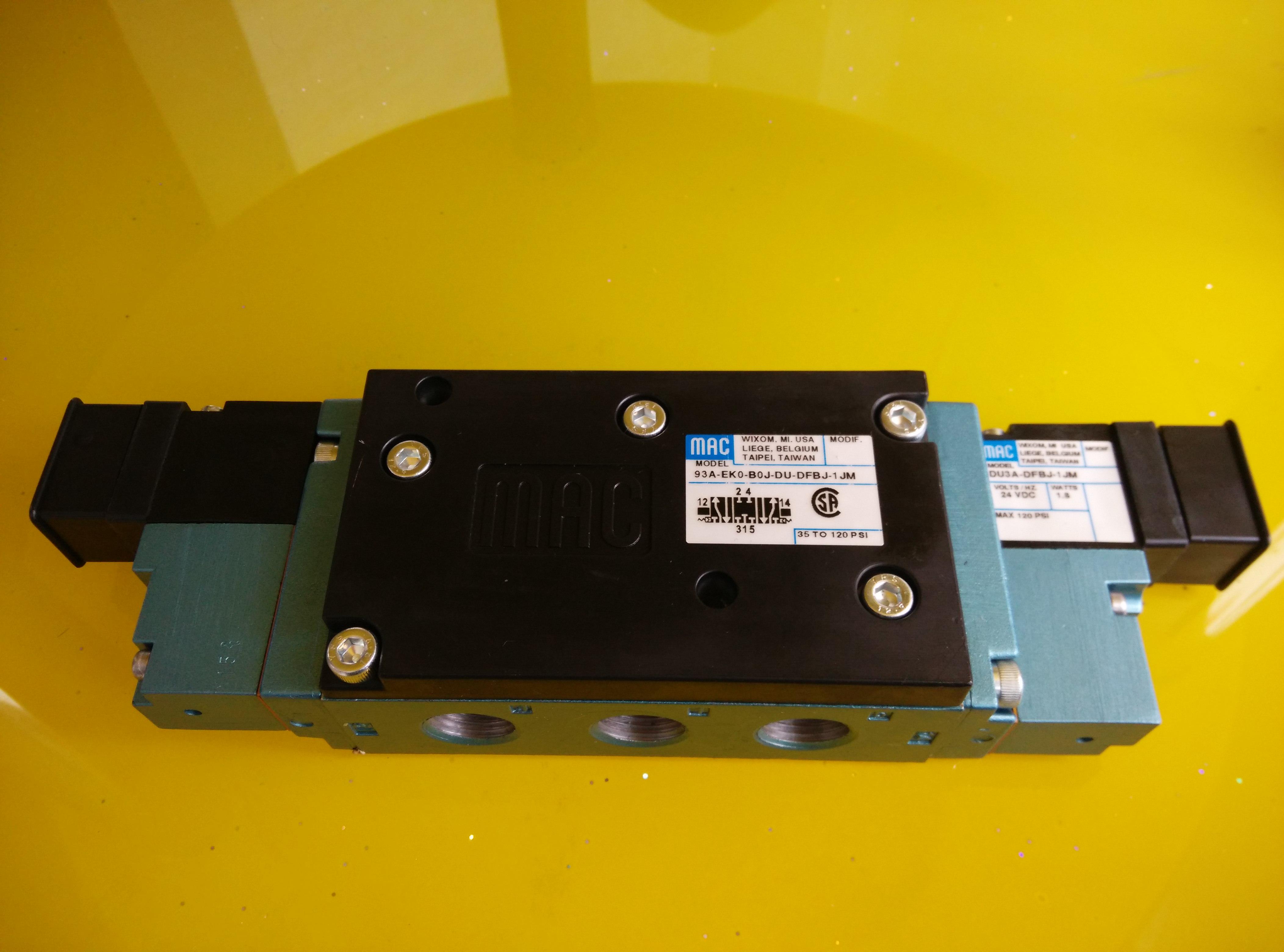 US - Mac magnetventil 93A-EKO-BOJ-DU-DFBJ-1JM eine strafe von zehn echte Paket post.