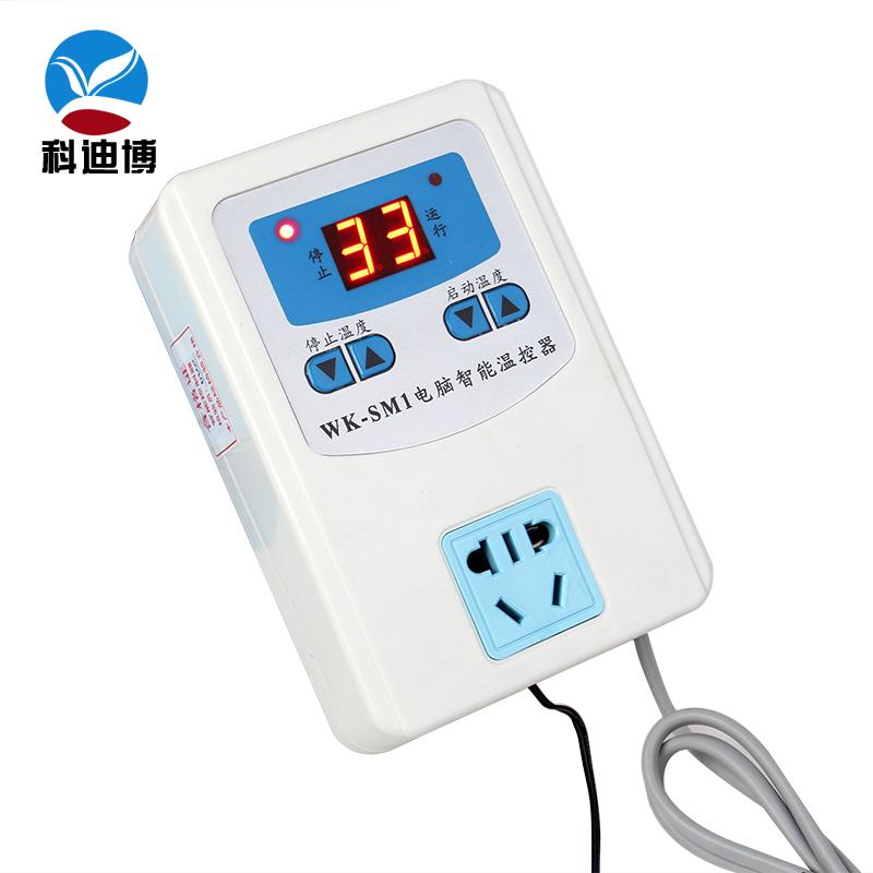 Special digital display breeding thermostat, heating floor circulating pump thermostat, water pump intelligent temperature control switch