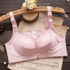 内衣无钢圈性感蕾丝防走光少女抹胸文胸单件聚拢上托收副乳胸罩