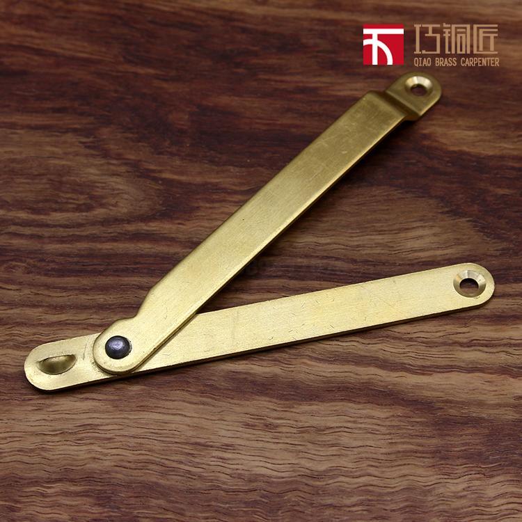 Messing holzkiste Teile der unterstützung von Jack BAR antike Möbel, hardware - zubehör holzkiste unterstützung abhängen,