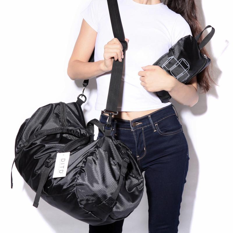 防水折叠旅行包男手提运动包行李袋单肩包女休闲包时尚训练健身包