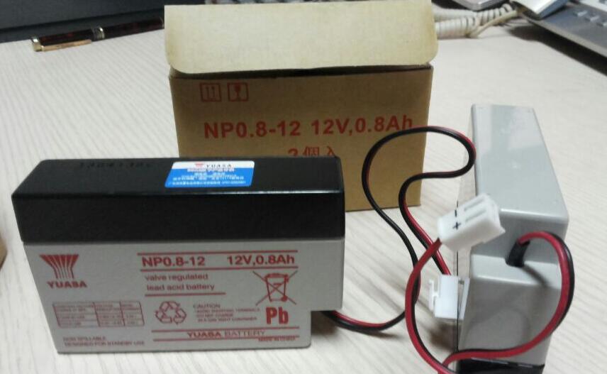Batería de plomo YUASA yuasa NP1.2-1212V1.2AHUPSEPS de suministro de energía de emergencia especial