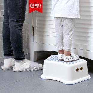 儿童防滑凳浴室踏脚凳塑料矮凳家用洗手垫脚凳宝宝小凳子板凳脚踏