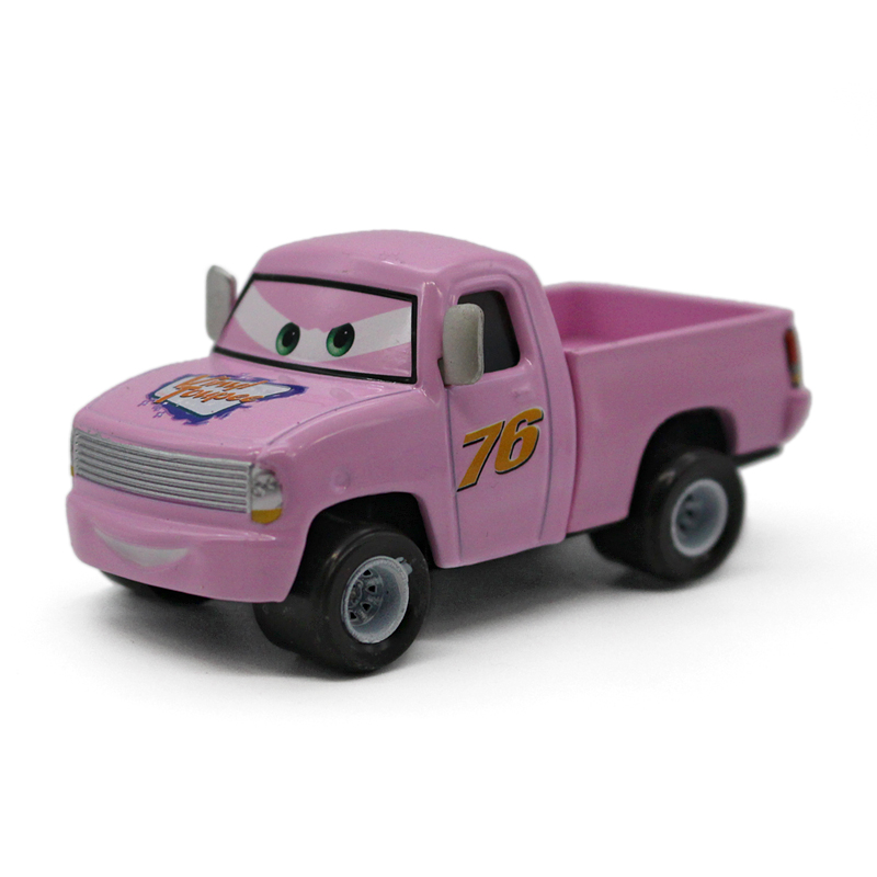 Car rally, alloy 76 pickup, simulation static model, toy model gift for children