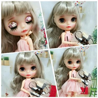 Blythe 娃娃 小布娃娃 正版日本丝 特价 白肌 普肌 关节体 改娃