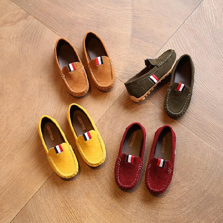 新款4软底5豆豆鞋6春秋7男童8小皮鞋3-11岁10休闲鞋9儿童鞋男孩2