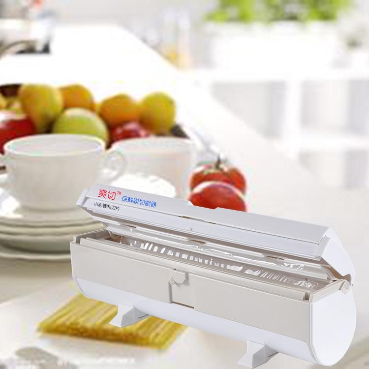 แต่ผู้บริโภคสามารถตัดแรงดันมืออาหารเกรด PE ฟิล์มม้วนฟิล์มพร้อมกล่องอาหารครัวบ้านดง