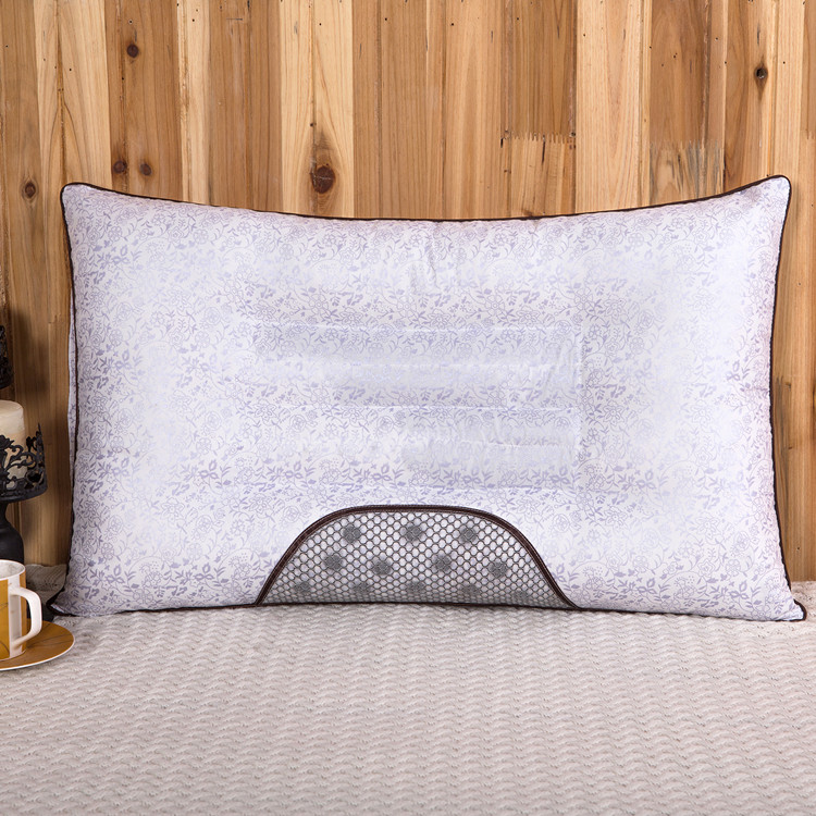 眠半双新型低枕枕枕薄い護首成人頸椎ケツメイシシングル学生寮ラベンダー