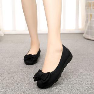 老北京布鞋女春夏新款豆豆鞋单鞋