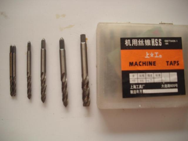 Machine wire tapping screw thread tapping M3M4