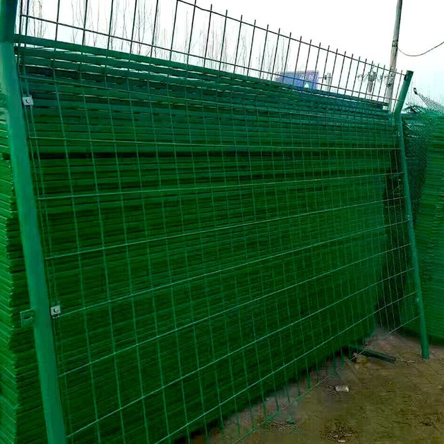 Ten Holland double fence bilateral wire fence wire mesh fence breeding chicken net activity of barbed wire