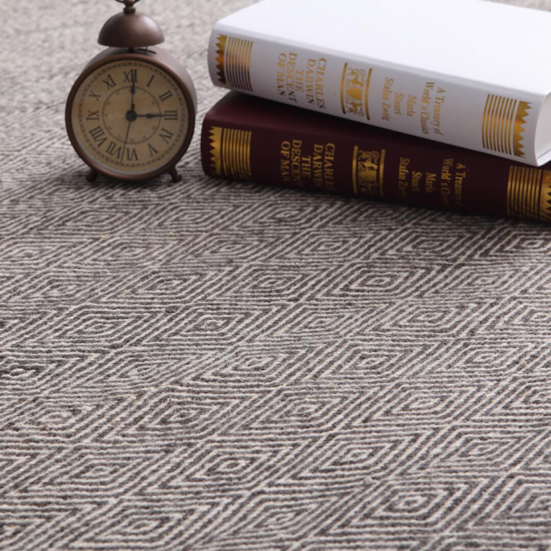 a szőnyeg gyapjú szőnyegen egy indiából származó kézi szövésű szőnyeg nappaliban hálószoba szönyeg 碳黑 rombusz