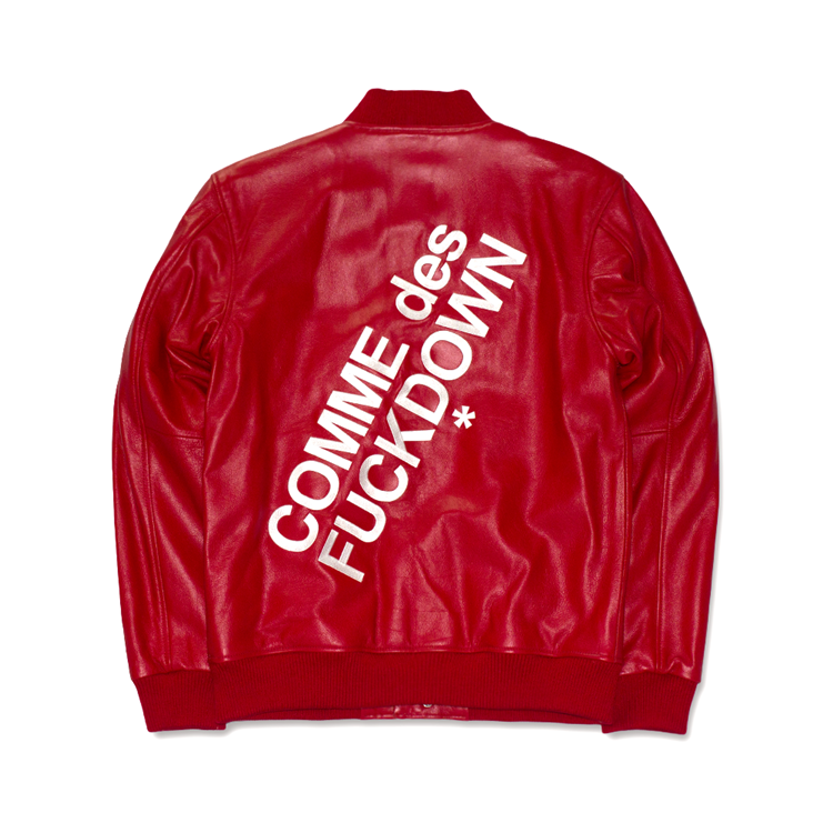 【QTMD】SSUR 2015 冬季新品 COMME DES FUCKDOWN全牛皮夾克