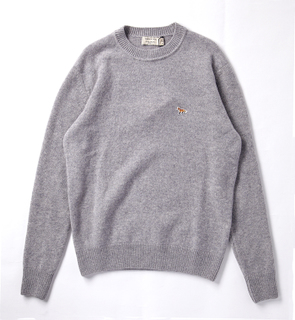 MAISON KITSUNE R-NECK SWEATER