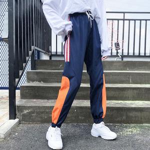 亚博娱乐平台入口实价已检2018秋冬国潮新品休闲裤运动裤长裤宽松显瘦裤