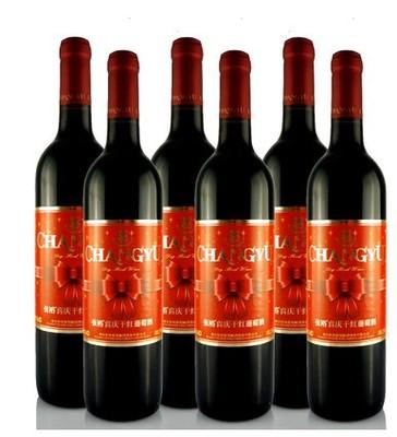 张裕干红葡萄酒喜庆750ml赤霞珠葡萄