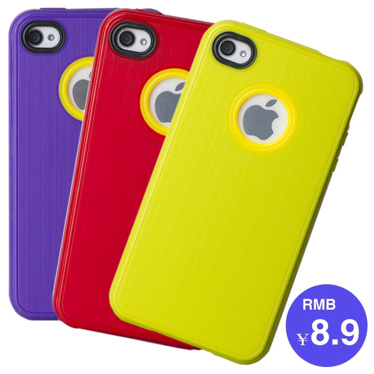 Insux 苹果4手机壳 iPhone4S手机壳 5折 iPhone4外壳 手机套 配件图片