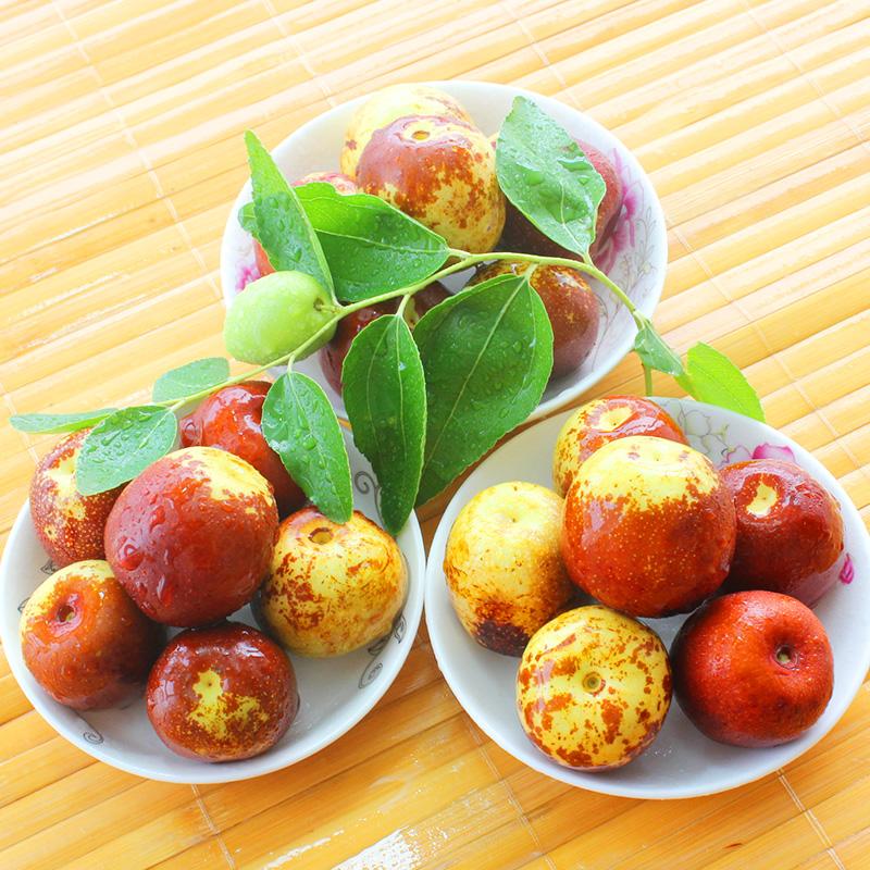 新鲜大枣沾化冬枣脆甜枣山东特产大果包邮现摘新鲜水果足3斤价格:图片