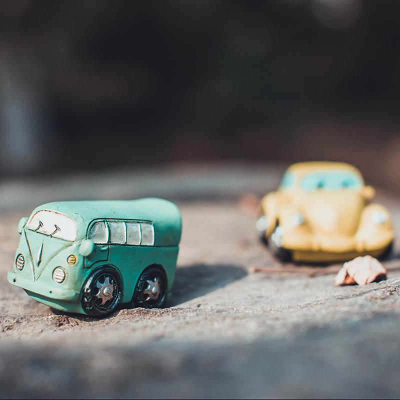 汽车摆件可爱创意复古小汽车 汽车内饰装饰小摆件价格:$9.00元-悠图片