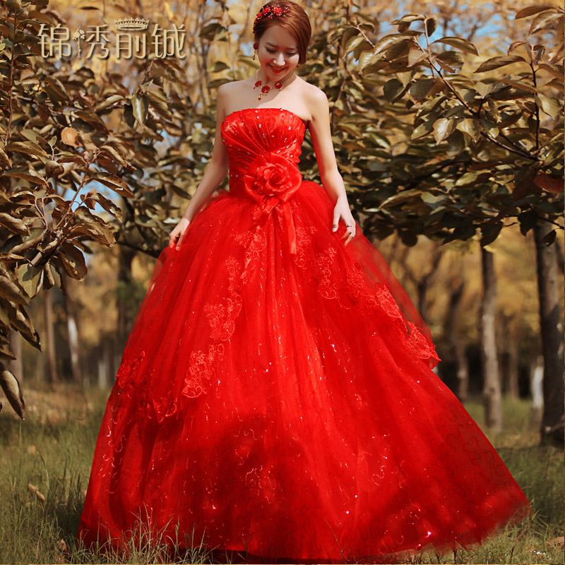 新娘婚纱照价格_...A字裙公主长袖新娘婚纱优雅拖尾价格:$3680.00元-诺维亚服饰旗...