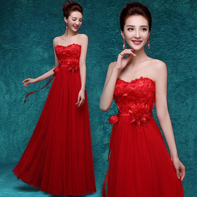 袍新款2015冬季敬酒服新娘中式红色结婚礼服短款长袖加厚冬装女图片